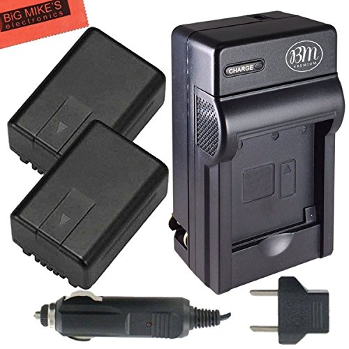 Pack Of 2 VW-VBK180 Batteries And batter - V700 Camcorder Shopping Results
