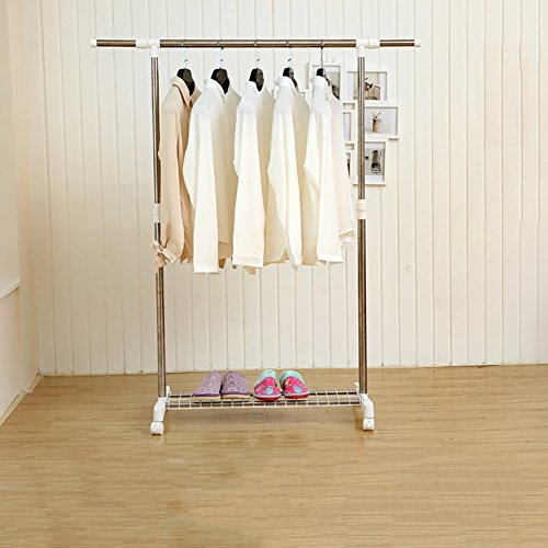 Folding sweater drying rack,Floor single pole folding simple
