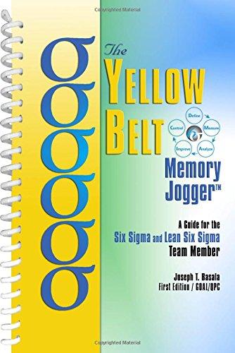 The Yellow Belt Memory Jogger
