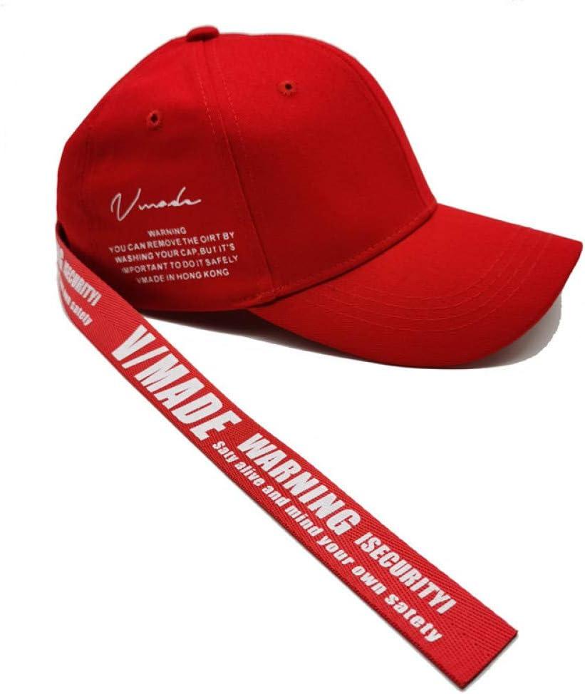 LXYSLX Gorras De B/éisbol De Tira Larga Sombrero para Hombre Sombreros De Huesos De Primavera Gorros De Verano Snapback Chance Gorras De Mujer