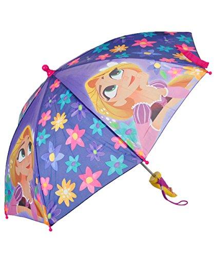 Disney Tangled the Series Rapunzel Girls' Umbrella 3D Handle - Toddler