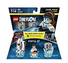 Puzzle through LEGO DIMENSIONS Portal 2 with Chell! Armed with only her portal gun and her wits, journey as Chell and battle through the newly rebuilt Portal2 Aperture Science Test Labs filled with puzzles, Thermal Discouragement Beams, Neur...