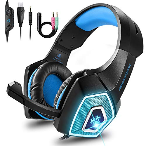 🥇 Cocoda Cascos Gaming para PS4 Nintendo Switch Xbox One