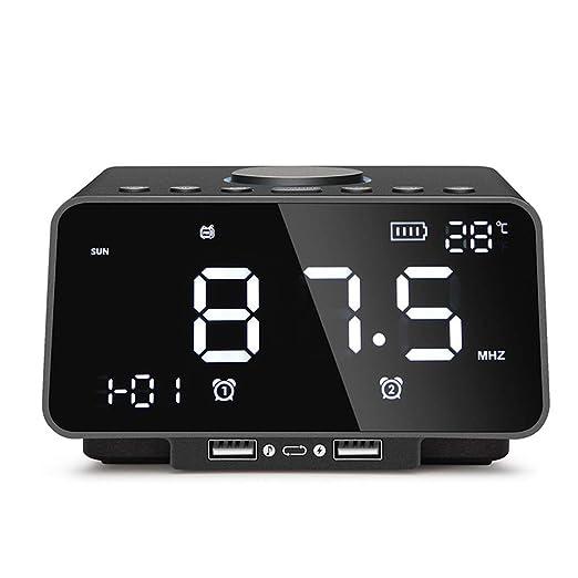 Reloj Despertador Multifunción Bluetooth Relojes De Alarma ...