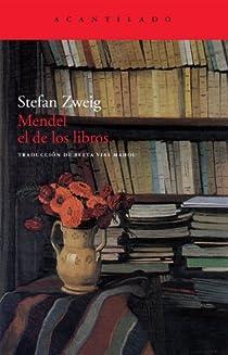 Mendel el de los libros par Zweig