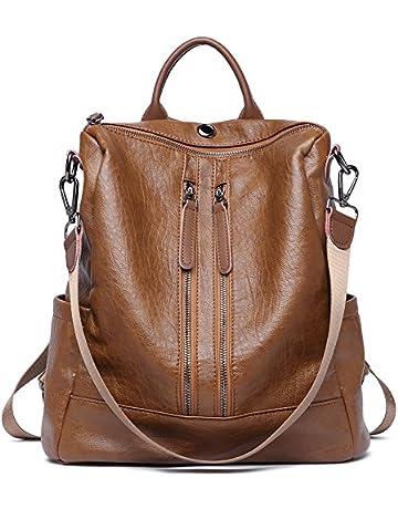 7b3222929 Women Backpack Purse Leather Fashion Travel Casual Detachable Ladies Shoulder  Bag