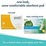 Seventh Generation Maxi Pads, Regular, Free & Clear Chlorine Free, 24ct