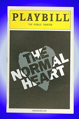 Jay Notions - The Normal Heart, Off-Broadway Playbill + Raul Esparza, Joanna Gleason, Paul Whitthorne, Jay Russell, Mark Dobies, Billy Warlock, Fred Berman