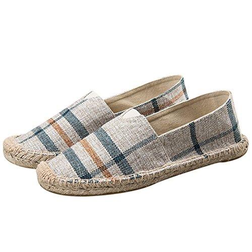 Canvas Linen Casual Slip Women's on Flats QZUnique Daily Classic Shoes wxfHtwv