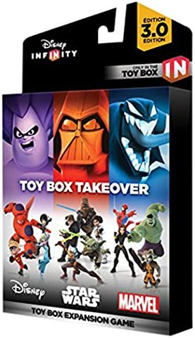 Disney Infinity 3 0 Toy Box Takeover Toy Box Takeover Edition Amazon Ca Computer And Video Games