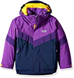 Helly Hansen Kids Legacy Insulated Jacket, Sunburned Purple, Size 9