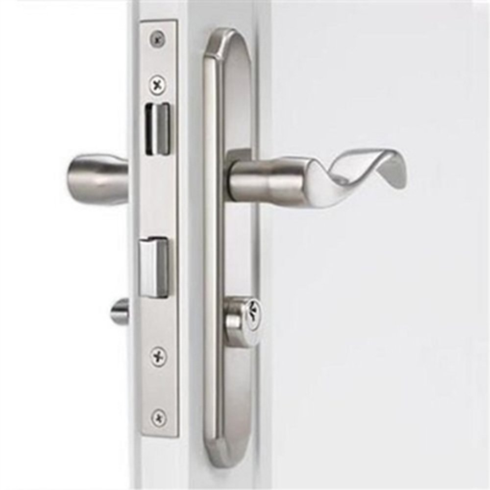 Mortise Storm Door Hardware Satin Nickel For 1 18 Inch To 2 Inch