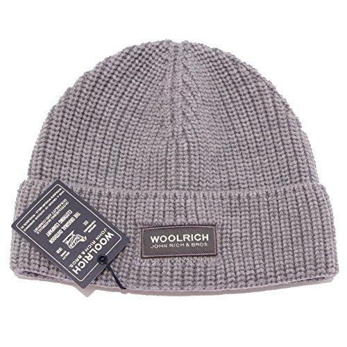 7854w Hat Cuffia Wool Grigio Grey Uomo Man Woolrich 6pwqz