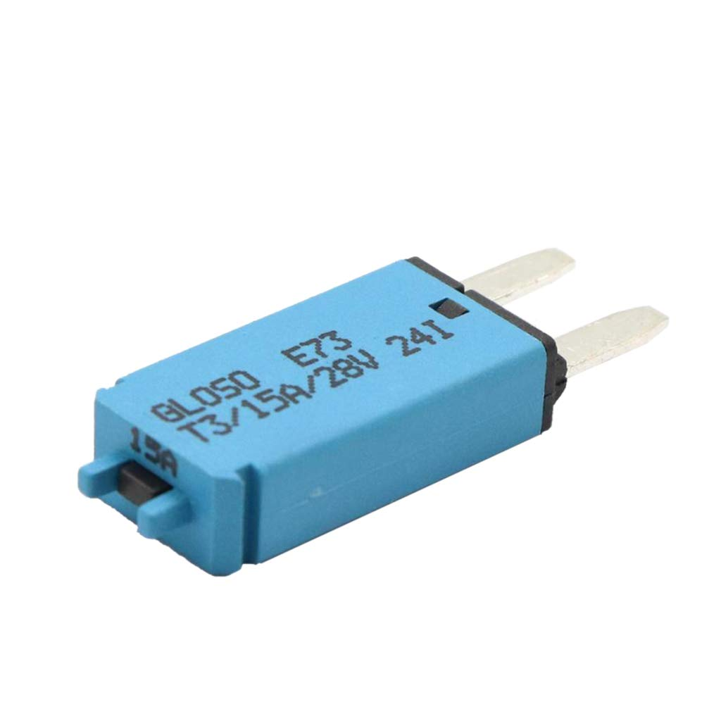 homyl 12v 24v auto car marine resettable fuse circuit breaker smalll