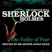 The Valley of Fear Audiobook by Sir Arthur Conan Doyle Narrated by T. Walters, Tom Potter
