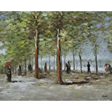 Posters: Vincent Van Gogh Poster Art Print - Lane At The Jardin Du Luxembourg, 1886 (20 x 16 inches)