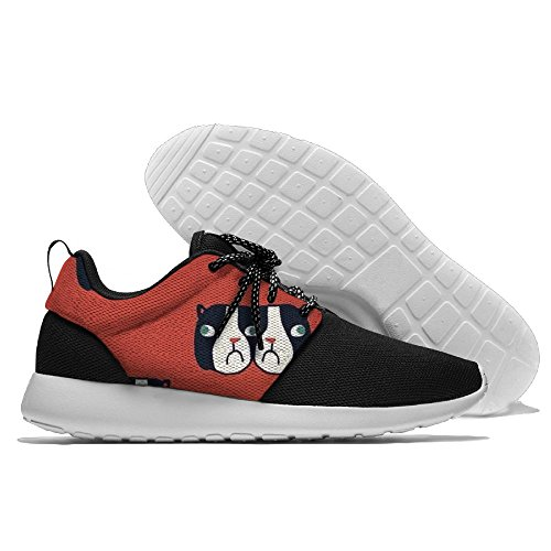 CREAMYARD Mens 14 Breathable Mesh Leisure Sports Shoes Printing Soft Sole Sports Running Shoes MZnFjxPDC1