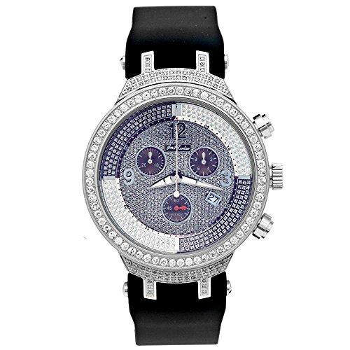 Joe Rodeo Diamond Men's Watch - MASTER silver 2.65 ctw