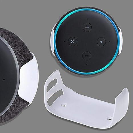 Great Daily Audio Wandhalterung 3 Generation Wandhalterungen Für Echo Dot Home Bracket Outlet Mount Smart Speaker Home Voice Assistants Elektronik Zubehör Weiß Küche Haushalt