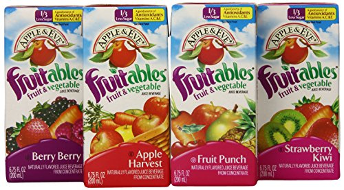 Apple & Eve Fruitables Variety Pack, 6.75 Fl. Oz. - 32 Count (Dei Fratelli Tomato Juice compare prices)
