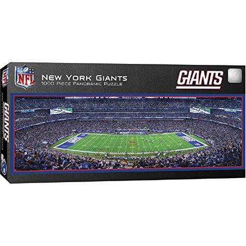 MasterPieces NFL New York Giants 1000 Piece Stadium Panoramic Jigsaw Puzzle