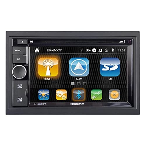 XZENT X302BT-MK2 2-Din Naviceiver mit Bluetooth - X-302BT-MK2 high-quality