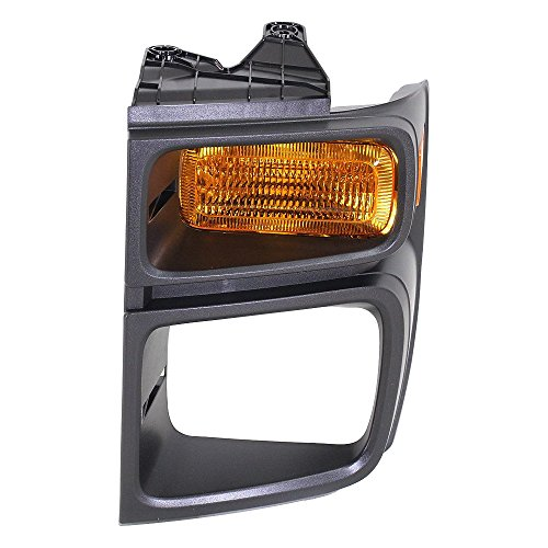 Park Lamp for Ford Econoline Van 08-14 Left Lens and Housing W/Sealed Beam Head Lamps