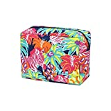 N. Gil Large Travel Cosmetic Pouch Bag 2 (Zebra)