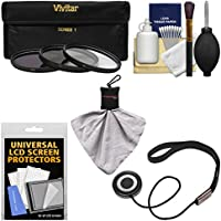 Essentials Bundle for Nikon 55-200mm f/4-5.6G VR DX AF-S ED Zoom-Nikkor Lens with 3 (UV/CPL/ND8) Filters + Accessory Kit