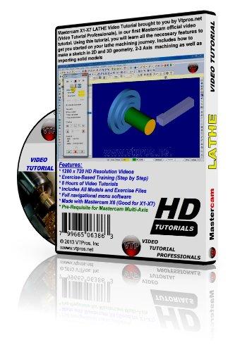 amazon com mastercam x1 x7 lathe video tutorial training in 720p hd rh amazon com