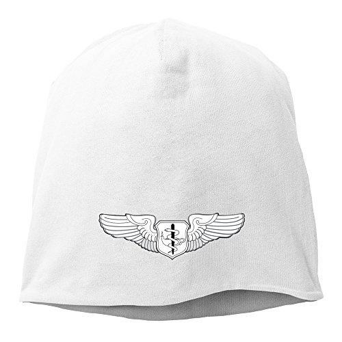 - LKSJSADJ Flight Surgeon Badge Hedging Hat White