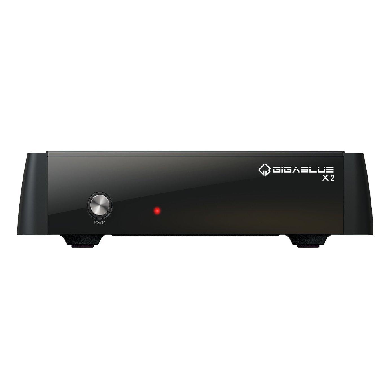 GigaBlue HD X2con DVB-S2Sintonizador Full HDTV Linux Receptor