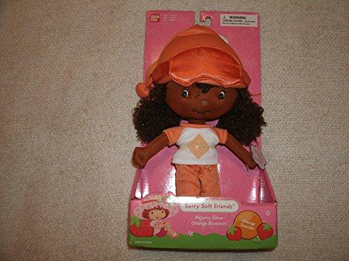 Strawberry Shortcake Berry Soft Friends Pajama Glow Orange Blossom Bandai 2003