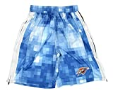 NBA Men's Pixel Single Layer Athletic Shorts, Team Options (Golden State Warriors, X-Large)