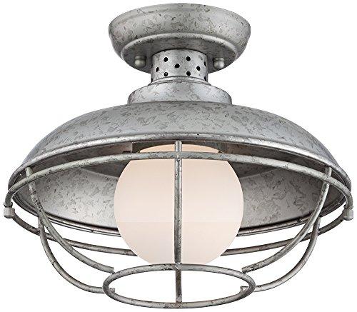Galvanized Metal Outdoor Lighting - 6