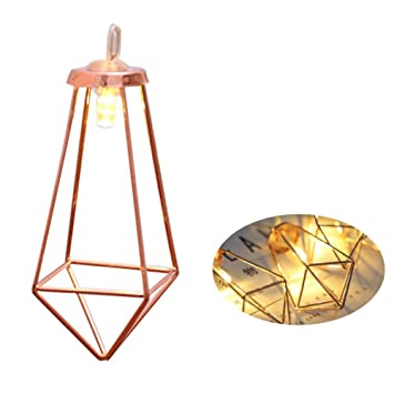 Home Decor Bedroom Festival Romantic Atmosphere Party Metal Charming Hollow Out Fairy Lamps Heart Shape Light String Durable Outdoor Lighting
