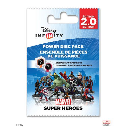 Disney Infinity: Marvel Super Heroes (2.0 Edition) Power Disc Pack