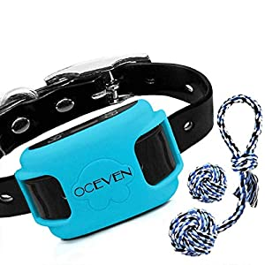 OCEVEN Wireless Dog Fence System with GPS, Outdoor Pet Containment System Rechargeable Waterproof Collar EF851S, Blue… Click on image for further info.