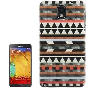 """Galaxy Note 3 : caso de la cubierta protectora de plástico """" Dibujo tribal azteca »"""