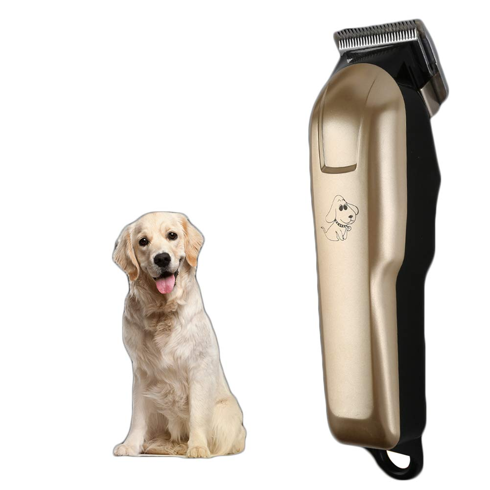 Pet Grooming Clippers with Comb Guides Rechargeable Low Noise Cordless for Cleaning Brush for Pet Dogs and Cats, Other Animals Hair Shave