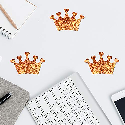 Belimely Imperial Crown Wall Decal Pineapples Pattern Stickers Wall Vinyl Stickers For Home Decor Nursery Decor Children Room ()