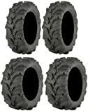 Full set of ITP Mud Lite XTR (6ply) 27x9-12 and 27x11-12 ATV Tires (2)