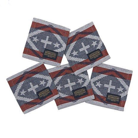 ペンドルトン(ペンドルトン) コースター 5P LB007 Coaster 19800707-795000 Chief Star and Stripe (F/Men's、Lady's) B072HJ9SXB