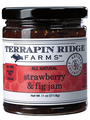 - Terrapin Ridge Farms Jam, Strawberry and Fig, 11 Ounce