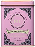 Harney and Sons Fine Teas, Green Tea with Coconut, 20 Sachets (Pack of 3) For Sale
