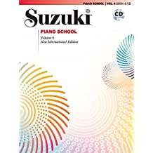 Suzuki Piano School, Vol 6: Book and CD