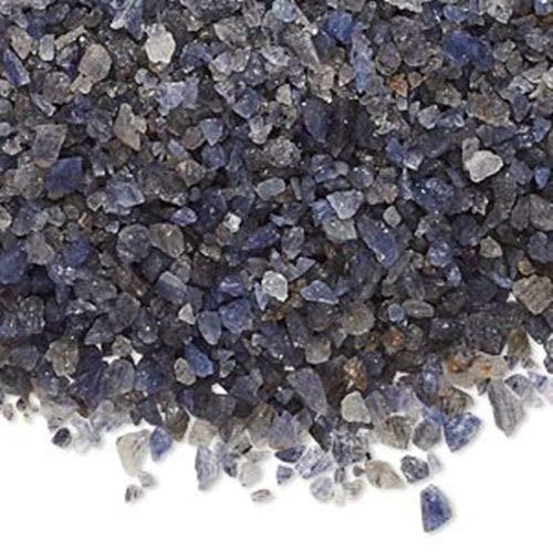 (Natural Blue Aventurine Un-Drilled Inlay Embellishment Mini-Chips 50 Grams)