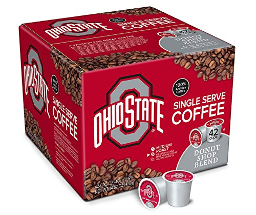 (Ohio State Donut Shop Blend Single Serve Brew Cups,)