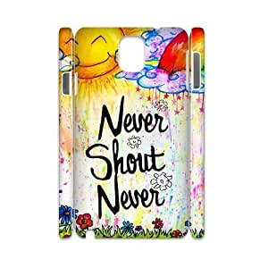 DIY 3D Case for samsung galaxy note3 n9000 w/ Never Shout Never image at Hmh-xase (style 6)