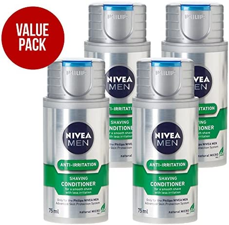 Philips NIVEA Shaving conditioner HS800 with Natural MICRO tec ...